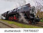 steam locomotive  historic... | Shutterstock . vector #759700327