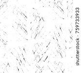 grunge black and white pattern. ... | Shutterstock . vector #759733933