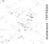 grunge black and white pattern. ... | Shutterstock . vector #759743263