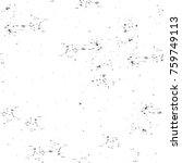 grunge black and white pattern. ... | Shutterstock . vector #759749113