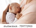 family  motherhood and people... | Shutterstock . vector #759772903