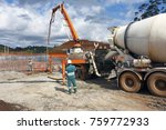 large construction receiving...   Shutterstock . vector #759772933
