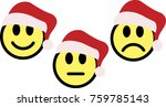 smileys emoticons icon in new... | Shutterstock .eps vector #759785143