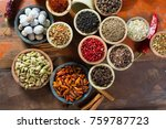 variety of different asian and... | Shutterstock . vector #759787723