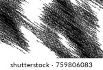 black and white grunge pattern... | Shutterstock . vector #759806083