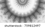 black and white pattern for... | Shutterstock . vector #759812497