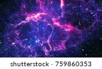 planets  stars and galaxies in... | Shutterstock . vector #759860353