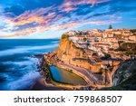 azenhas do mar  sintra near...   Shutterstock . vector #759868507