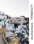 view of famous white buildings... | Shutterstock . vector #759885277