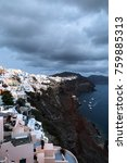 view of famous white buildings... | Shutterstock . vector #759885313