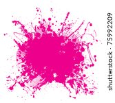 abstract pink grunge background ... | Shutterstock . vector #75992209