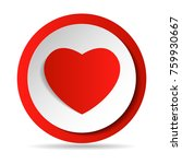 heart like icons set. thumbs up ... | Shutterstock .eps vector #759930667