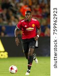 Small photo of CARSON, CA - JULY 15: Paul Pogba during Manchester United's summer tour friendly against the L.A. Galaxy on July 15th 2017 at the StubHub Center.