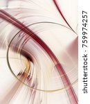 abstract red gold on white... | Shutterstock . vector #759974257
