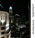 Night City Lights Of Charlotte...