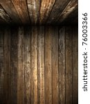 old grunge wood wall and...   Shutterstock . vector #76003366
