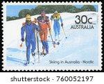 australia   circa 1984 a... | Shutterstock . vector #760052197