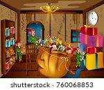 easy to edit vector... | Shutterstock .eps vector #760068853