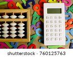 education business and finance... | Shutterstock . vector #760125763