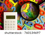 education business and finance... | Shutterstock . vector #760134697