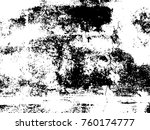 grungy obsolete concrete wall... | Shutterstock .eps vector #760174777