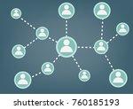 vector illustration of customer ... | Shutterstock .eps vector #760185193
