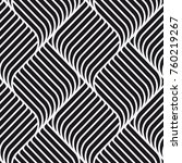 seamless pattern with geometric ... | Shutterstock .eps vector #760219267