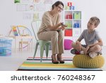 professional child counselor...   Shutterstock . vector #760248367