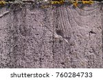 painted wall of cement ... | Shutterstock . vector #760284733