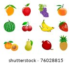 an illustration of different... | Shutterstock . vector #76028815