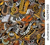 cartoon cute doodles classical...   Shutterstock .eps vector #760299103