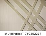 modern classic style wall using ... | Shutterstock . vector #760302217