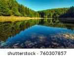 lake meugliano  province of... | Shutterstock . vector #760307857