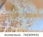 rusty stain paint cement wall... | Shutterstock . vector #760309453