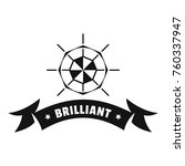 brilliant logo. simple...   Shutterstock .eps vector #760337947