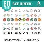 basic elements icons