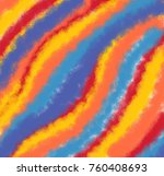 rainbow colorful background. | Shutterstock . vector #760408693