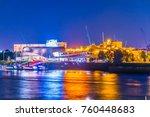 hamburg  germany  august 29 ... | Shutterstock . vector #760448683