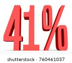 forty one percent off. discount ... | Shutterstock . vector #760461037
