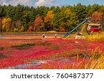 carlisle  ma  usa   october 17  ... | Shutterstock . vector #760487377