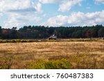 carlisle  ma  usa   october 17  ... | Shutterstock . vector #760487383