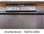a wooden sign taken in richmond ... | Shutterstock . vector #760511383