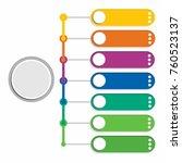 blank timeline infographics... | Shutterstock .eps vector #760523137