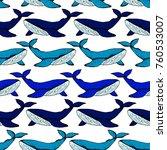 whale vector illustration....   Shutterstock .eps vector #760533007