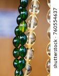 beautiful beads of the same... | Shutterstock . vector #760554637