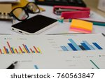 business finance  accounting ... | Shutterstock . vector #760563847