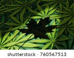 cannabis canada law and... | Shutterstock . vector #760567513