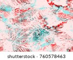 painted watercolor pattern.... | Shutterstock . vector #760578463