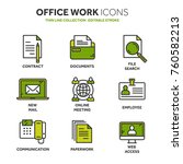 business and office work.... | Shutterstock .eps vector #760582213