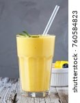 beautiful and homemade fresh... | Shutterstock . vector #760584823